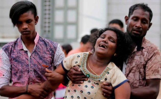 Γυναίκα μεταξύ των τζιχαντιστών αυτοκτονίας στη Σρι Λάνκα