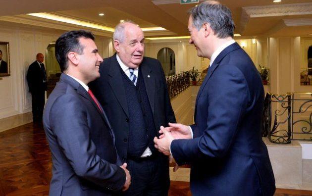 Στα Σκόπια ο Κουίκ – Συναντήθηκε με Ζάεφ, Ντιμιτρόφ και Αρτέμι