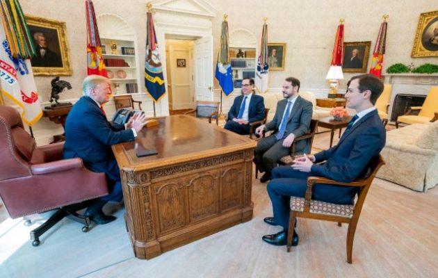 Ο γαμπρός του Ερντογάν συναντήθηκε με τον Ντόναλντ Τραμπ στον Λευκό Οίκο