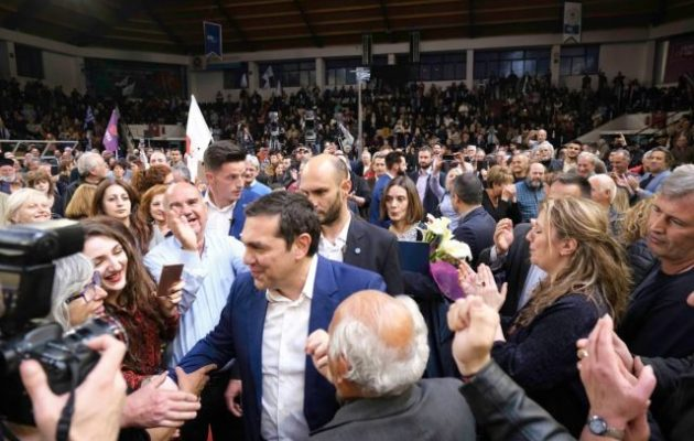 Τσίπρας από Πάτρα: Η Ελλάδα δεν γυρίζει πίσω σε αυτούς που την λεηλάτησαν και την χρεοκόπησαν