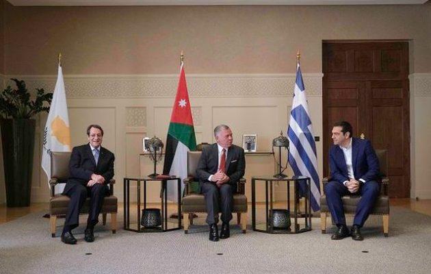 Αλέξης Τσίπρας σε βασιλιά Αμπντάλα: «Η Ελλάδα θα είναι η γέφυρά σας με την ΕΕ»