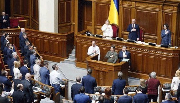 Η Ουκρανία καθιερώνει ως επίσημη γλώσσα την ουκρανική