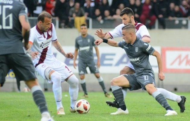 Αναβολή στέψης για τον ΠΑΟΚ – Έχασε βαθμούς στη Λάρισα (1-1)