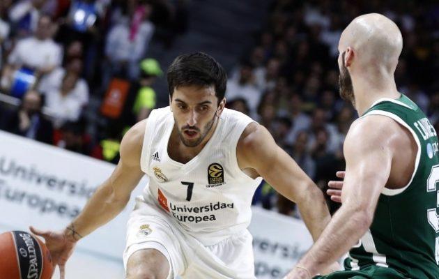 Έχασε την ευκαιρία για break στη Μαδρίτη ο Παναθηναϊκός – Ηττήθηκε 75-72 από τη Ρεάλ