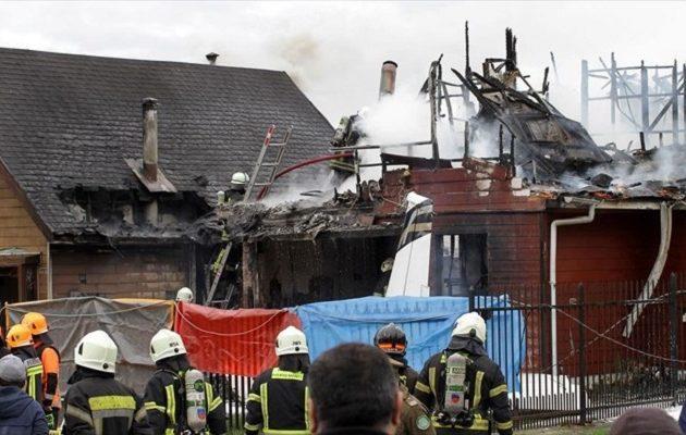 Αεροσκάφος στη Χιλή συνετρίβη πάνω σε σπίτι – Έξι νεκροί