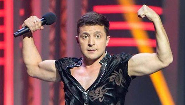 Ο κωμικός Ζελένσκι νικητής με 30,2% του πρώτου γύρου προεδρικών εκλογών στην Ουκρανία