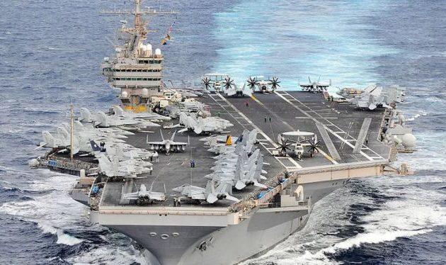Δόθηκε εντολή στο αεροπλανοφόρο «USS Abraham Lincoln» να καταπλεύσει στη Σούδα