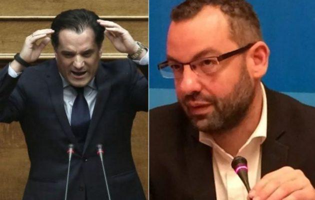 Ο Άδωνις δεν διάβασε το mail Χαρδούβελη! Το απέδειξε ο Χριστοφορίδης με το ΕΚΑΣ
