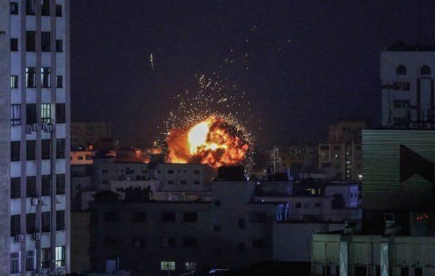 Το «πρακτορίστικο» τουρκικό Anadolu που ισοπεδώθηκε στη Γάζα συστεγαζόταν με τους τζιχαντιστές