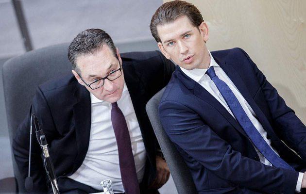 Αυστρία: Πρόωρες εκλογές ανακοίνωσε ο Κουρτς, στον απόηχο του σκανδάλου Στράχε