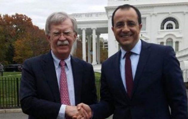 Έξαλλοι οι Αμερικανοί με τους Τούρκους – Τηλεφωνική επικοινωνία Μπόλτον-Χριστοδουλίδη