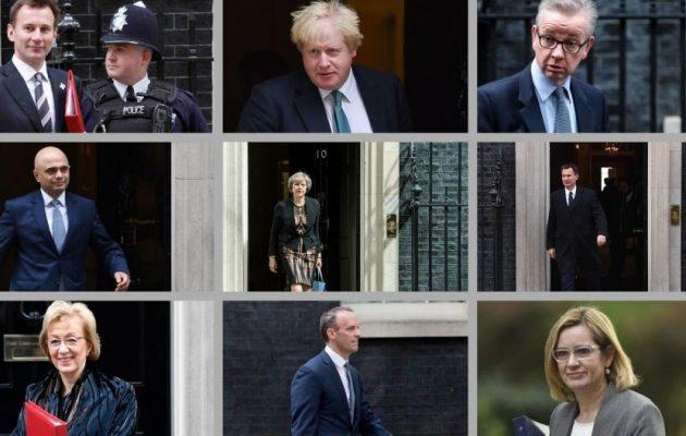 Βρετανία: Η κούρσα διαδοχής της Μέι ξεκίνησε – Ποιοι είναι οι υποψήφιοι πρωθυπουργοί