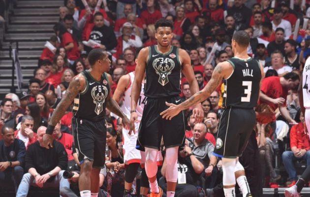 Αποκλείστηκαν οι Μπακς του Αντετοκούνμπο – Στους τελικούς του NBA οι Ράπτορς