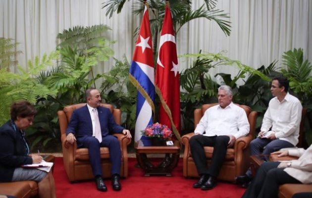 Η Τουρκία στο πλευρό της Κούβας απέναντι στις ΗΠΑ – Επίσκεψη Τσαβούσογλου στην Αβάνα