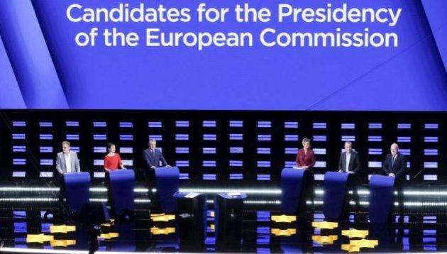 Ποιες θέσεις πήραν οι υποψήφιοι πρόεδροι της Ευρωπαϊκής Επιτροπής σε ντιμπέιτ και μας αφορούν