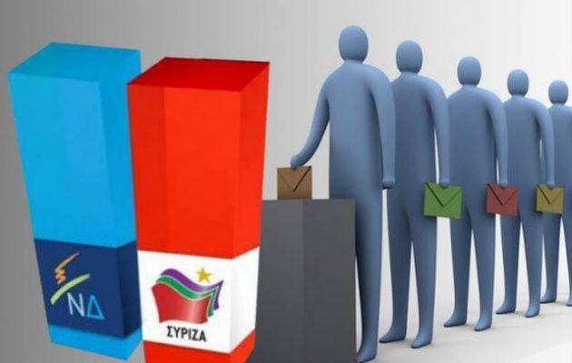 Δημοσκόπηση «βόμβα» – Στο όριο η διαφορά ΣΥΡΙΖΑ-ΝΔ – Ντέρμπι στις κάλπες
