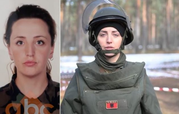 Στην Αλβανία θρήνος για 32χρονη υπολοχαγό που ανατινάχθηκε