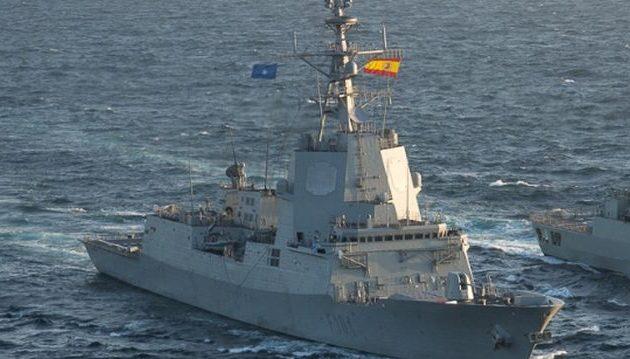 Ισπανική φρεγάτα δεν θα ακολουθήσει τον στόλο που θα περάσει τα Στενά του Ορμούζ
