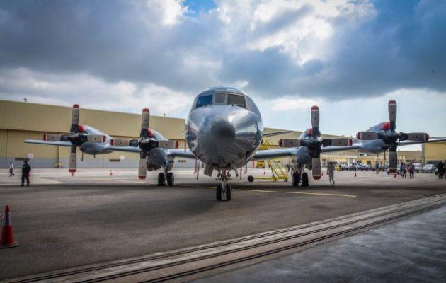 Τελετή παράδοσης στο Πολεμικό Ναυτικό του αεροσκάφους «P-3B Orion»