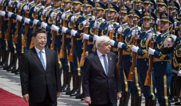 Με μεγάλες τιμές υποδέχτηκε τον Πρ. Παυλόπουλο ο Πρόεδρος της Κίνας