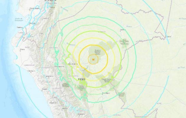 Ισχυρός σεισμός 8 Ρίχτερ συγκλόνισε το Περού