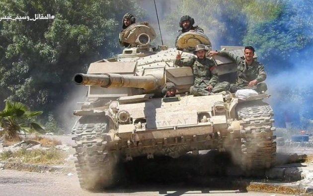 Ο συριακός στρατός απελευθέρωσε ακόμα δύο κωμοπόλεις στην επαρχία Χάμα