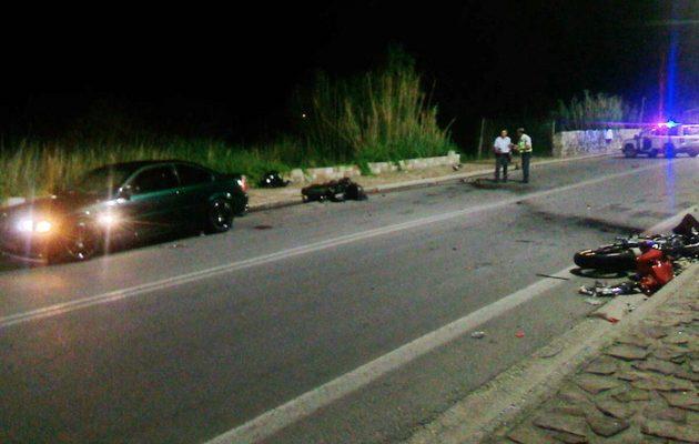 Τραγωδία στη Μυτιλήνη: Τρεις νεκροί σε τροχαίο, ανάμεσα τους μια 16χρονη