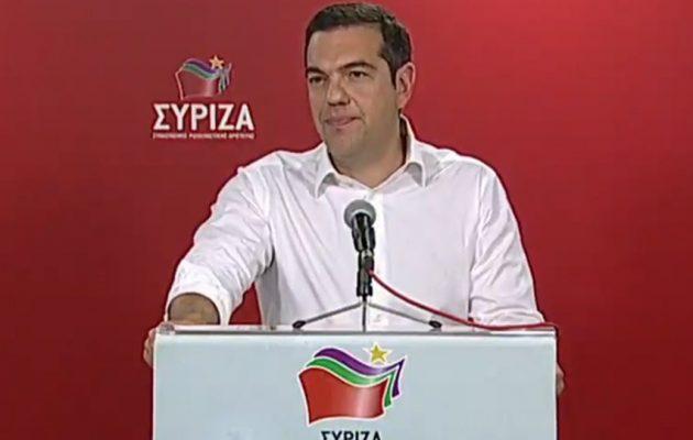Μάθημα πολιτικού ήθους από τον Αλέξη Τσίπρα: Προκήρυξε πρόωρες εκλογές