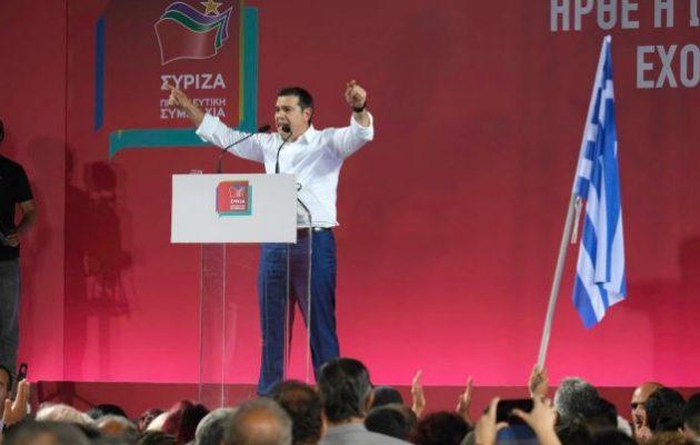 Ο Αλέξης ηγέτης της δημοκρατικής παράταξης – Χαιρέτισε τον δημοκρατικό λαό της Κρήτης