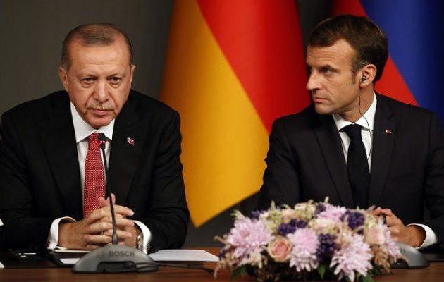 Ο Ερντογάν επιτέθηκε στον Μακρόν επειδή υποστηρίζει την Κύπρο