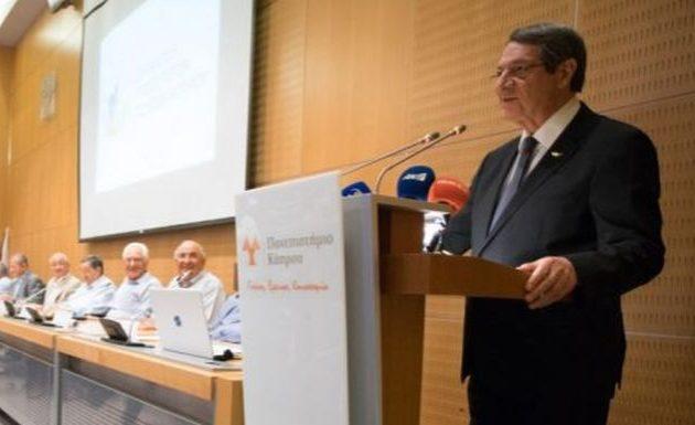 Νίκος Αναστασιάδης: Η Τουρκία θα αντιληφθεί ότι με απειλές δεν καταφέρνει τίποτα
