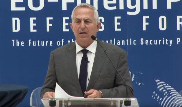 Ο Ευάγγ. Αποστολάκης ενημέρωσε την αμερικανική κυβέρνηση για τις πολεμικές προκλήσεις της Τουρκίας