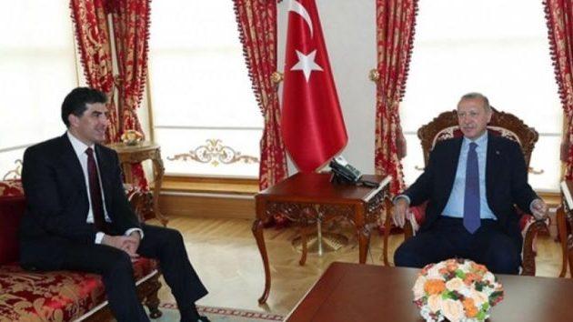 Ο πρόεδρος του ιρακινού Κουρδιστάν συναντήθηκε με τον Ερντογάν στην Πόλη