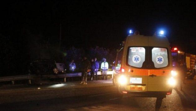 56χρονη σκοτώθηκε μπροστά στον σύζυγό της ενώ διέσχιζε πεζή την εθνική οδό