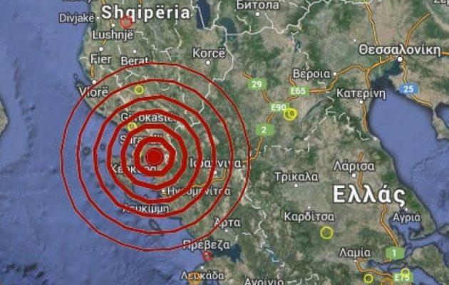 Συνεχίζεται η σεισμική δραστηριότητα στα ελληνο-αλβανικά σύνορα
