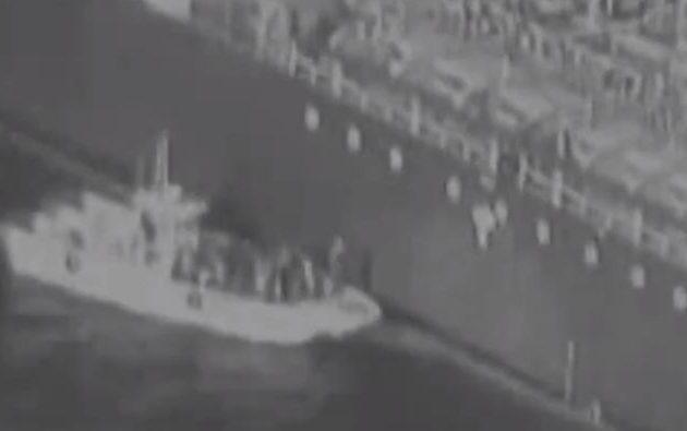 Βίντεο ντοκουμέντο δείχνει Ιρανούς δίπλα στο τάνκερ «Kokuka Courageous» (βίντεο)