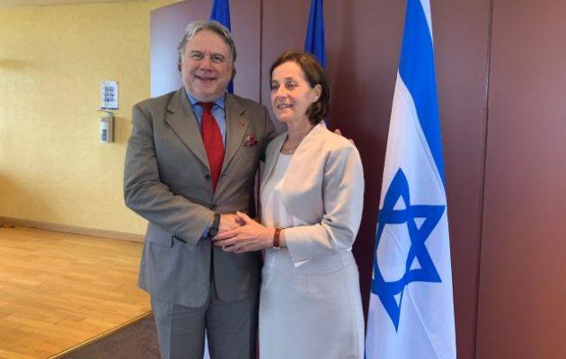 Αλλαγή φρουράς στην Πρεσβεία του Ισραήλ – Φεύγει η φίλη Ιρίτ Μπεν Άμπα