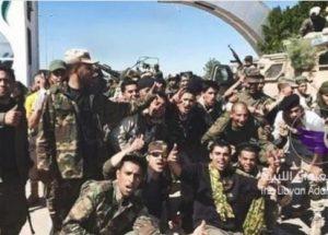 LNA soldiers (Libya)