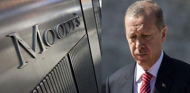 «Χαστούκι» Moody's στον Ερντογάν: Υποβάθμισε 18 τουρκικές τράπεζες