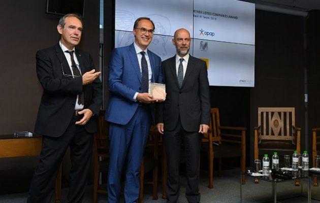 Πρωτιά στην ομάδα Επενδυτικών Σχέσεων του ΟΠΑΠ από το Χρηματιστήριο Αθηνών