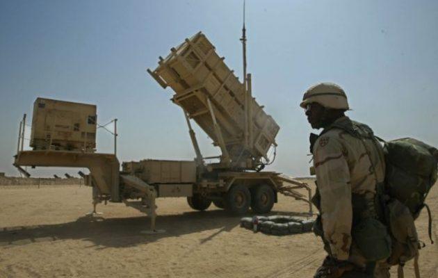 Οι Αμερικανοί στέλνουν ένα τάγμα αντιαεροπορικών Patriot στη Μέση Ανατολή