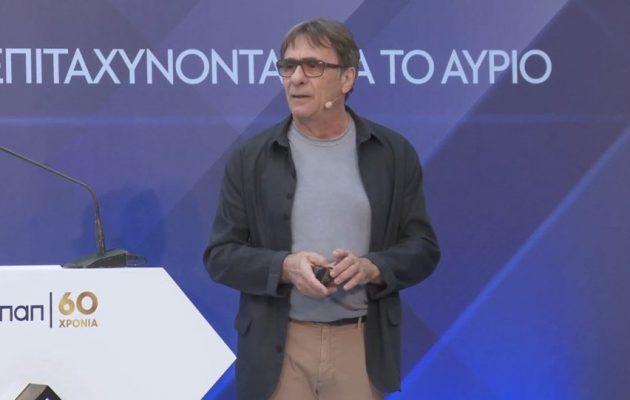 Η ομιλία του Πίτερ Οικονομίδη σε εκδήλωση του προγράμματος ΟΠΑΠ Forward (βίντεο)