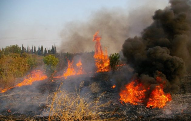 Σε ποιες περιοχές υπάρχει πολύ υψηλός κίνδυνος πυρκαγιάς το Σάββατο