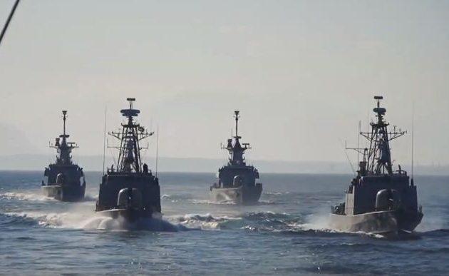 Όλος ο στόλος μας στο Αιγαίο σε μεγάλη άσκηση – Οι Τούρκοι παρακολουθούν ανήσυχοι (βίντεο)