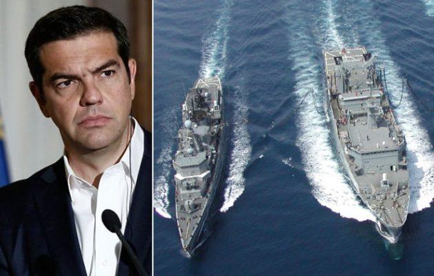 Τελεσίγραφο Τσίπρα στην Τουρκία: Θα αποτρέψουμε οποιαδήποτε γεώτρηση στην ελληνική ΑΟΖ