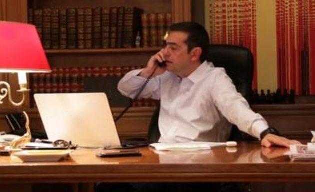 Ο Αλέξης Τσίπρας τηλεφώνησε στον Πρόεδρο της Κύπρου για συντονισμό