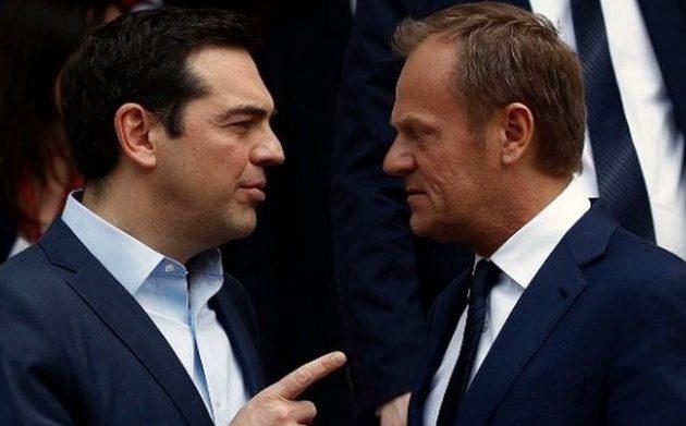 Ο Τσίπρας ζήτησε από τον Τουσκ επιβολή κυρώσεων στην Τουρκία