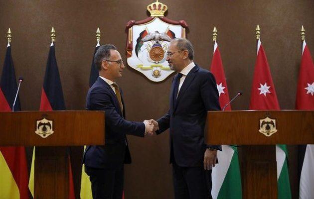 Η Γερμανία υποστηρίζει τη λύση των «δύο κρατών» στο Παλαιστινιακό