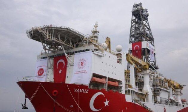 Θέμα ωρών να αρχίσει η πειρατική γεώτρηση του «Γιαβούζ» στην κυπριακή ΑΟΖ