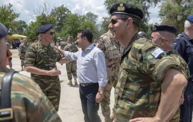 Ο Ελληνικός Στρατός στη Βόρεια Μακεδονία – «Μόνο η Ελλάδα επιτηρεί τον εναέριο χώρο μας»